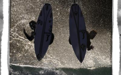 Gony Zubizarreta & Marlon Lipke Visit Dutch Surfshop Noordzee Boardstore